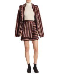 Zimmermann - Folly Uniform Stripe Blazer - Lyst