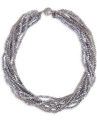 Saachi - Twisted Strand Necklace - Lyst