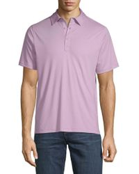 Saks Fifth Avenue - Classic Cotton Polo - Lyst