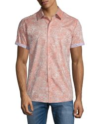 Robert Graham - Fallen Oaks Cotton Button-down Shirt - Lyst
