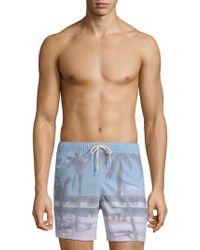 Original Paperbacks - Waikiki Beach Swim Trunks - Lyst