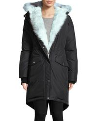 Pajar - Fox Fur And Rabbit Fur-trimmed Hooded Parka - Lyst