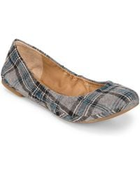 Lucky Brand - Emmie Leather Ballet Flats - Lyst