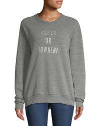 Knowlita - Aspen Graphic Sweatshirt - Lyst