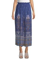 Free People - Printed Culottes - Lyst