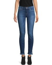 PAIGE - Skyline Ankle Jeans - Lyst