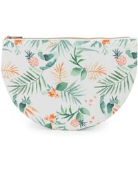 Saks Fifth Avenue - Pineapple Bikini Pouch - Lyst