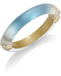 Alexis Bittar - Lucite Ombre Hinged Bangle - Lyst