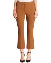 Theory - Erstina Pioneer Cropped Pants - Lyst