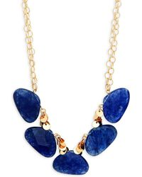 Kenneth Jay Lane - Crystal Statement Necklace - Lyst