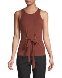 Walter Baker - Audrey Ribbed Top - Lyst
