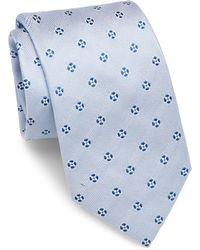 Brioni - Floral-textured Silk Tie - Lyst