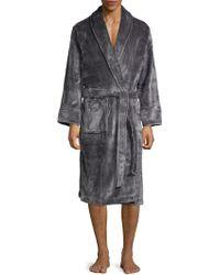 Saks Fifth Avenue - Luxury Knee-length Robe - Lyst