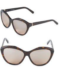 Swarovski - 54mm Crystal Cat-eye Sunglasses - Lyst