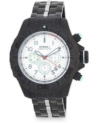 Kyboe - Stainless-steel Bracelet Chronograph Watch - Lyst