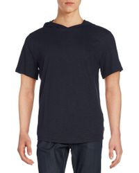 Threads For Thought - Moody Organic Cotton Short Sleeve Hoodie - Lyst