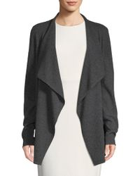 Saks Fifth Avenue - Waterfall Cashmere Cardigan - Lyst
