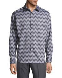 Robert Graham - Airfield Road Cotton Casual Button-down Shirt - Lyst