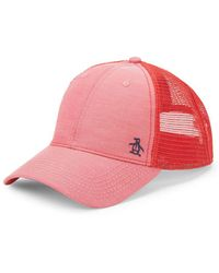 Original Penguin - Mesh-back Baseball Cap - Lyst