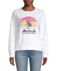 C&C California - Graphic Raglan-sleeve Sweatshirt - Lyst