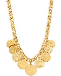 Ben-Amun - Gold Coins Necklace - Lyst