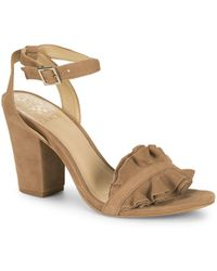Vince Camuto - Vinta Ruffle Sandals - Lyst