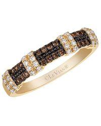 Le Vian - Chocolatier Vanilla Diamond, Chocolate Diamond And 14k Honey Gold Ring - Lyst