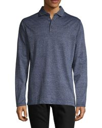 Bugatchi - Cotton Long-sleeve Top - Lyst