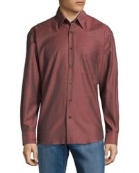 Robert Talbott - Classic Cotton Button-down Shirt - Lyst