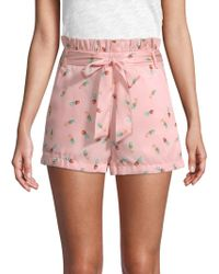 English Factory - Pineapple Daze Printed Shorts - Lyst