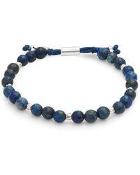 Gorjana - Power Lapis Beaded Bracelet - Lyst