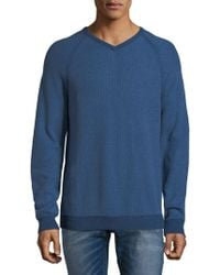 Tommy Bahama - Raglan-sleeve Cotton Sweater - Lyst