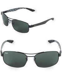 Ray-Ban - 62mm Rectangle Sunglasses - Lyst