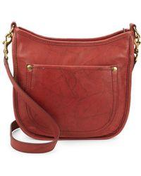 Frye - Campus Rivet Leather Crossbody Bag - Lyst