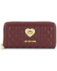 Love Moschino - Continental Wallet - Lyst