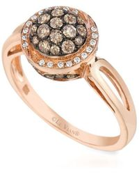 Le Vian - Chocolatier Diamond & 14k Rose Gold Ring - Lyst