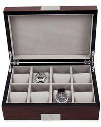 Bey-berk - Brown Wood Watch Box - Lyst