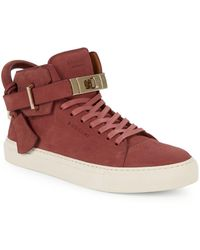 Buscemi - Turnlock Strap High-top Sneakers - Lyst