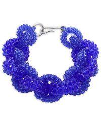Dries Van Noten - Beaded Loop Chain Necklace - Lyst