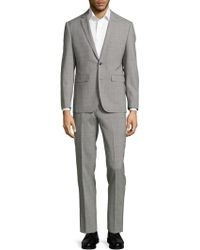 Vince Camuto - Classic-fit Plaid Wool Suit - Lyst
