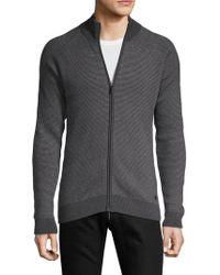 Bugatti - Zip-up Sweater - Lyst