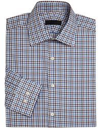 Ike By Ike Behar - Long Sleeve Checkered Dress Shirt - Lyst