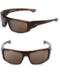 Revo - 60mm Wrap Sunglasses - Lyst