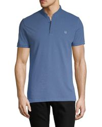 The Kooples Sport - Short-sleeve Cotton Polo - Lyst
