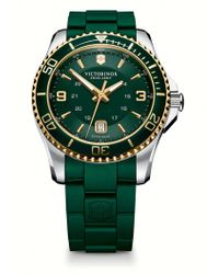 Victorinox - Maverick Gs Two-tone Watch - Lyst