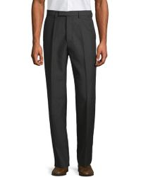 Valentino - Classic Straight Trousers - Lyst