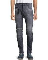 Lyst - Antony Morato Duran Flex Carrot Stretch Jeans in Blue for Men a33f5d04233
