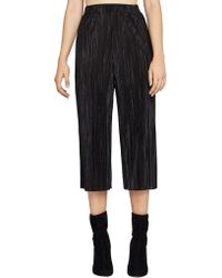 BCBGeneration - Pleated Plisse Gaucho Trousers - Lyst