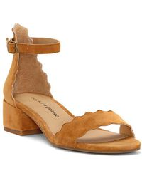 Lucky Brand - Norreys Scallop Ankle-strap Sandals - Lyst