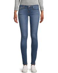 True Religion - Whiskered Skinny Jeans - Lyst